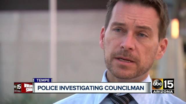 Police investigating Tempe councilman