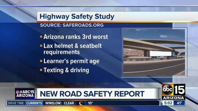 Advocacy group grades highway safety laws by state