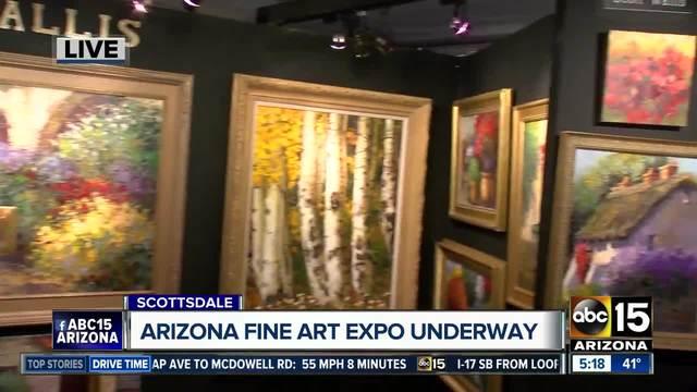 Arizona Fine Art Expo underway in Scottsdale
