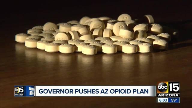 Gov- Ducey pushes Arizona opioid plan