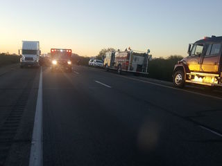 DPS: Serious crash between semi and car on I-10