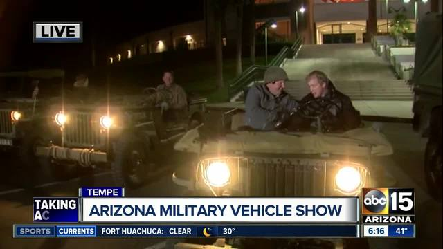 Military vehicle show gears up for 27th year