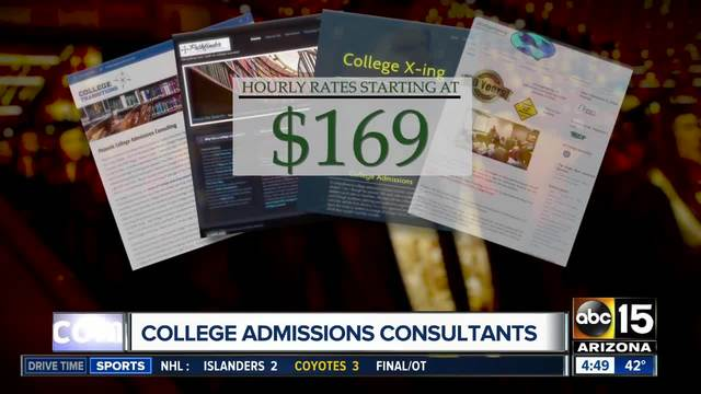 Pros helping students navigate college admission