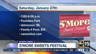 Get a sugar rush at the S'more Sweets Festival