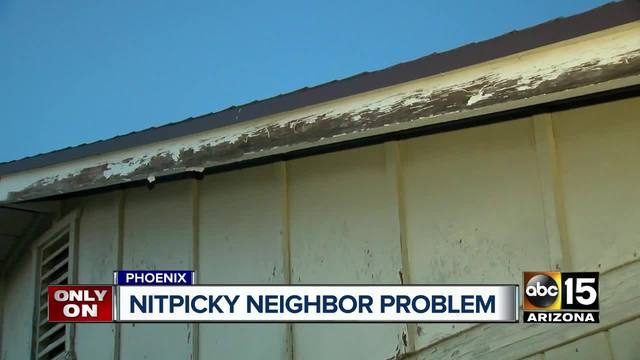 phoenix neighborhood fed up with person reporting homes for nit