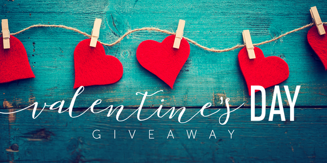 Valentines Day Giveaway Landing Page Header
