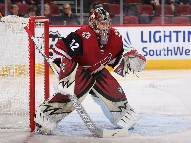 Coyotes G Antti Raanta did not start because of vehicle accident