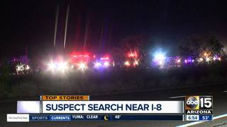 Shooting investigation shuts down I-8 overnight