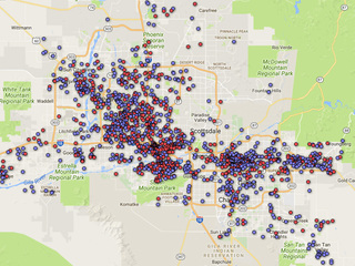 MAP: Search 3,800+ Valley sex offenders