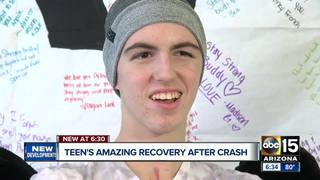 Teen released from hospital after Buckeye crash