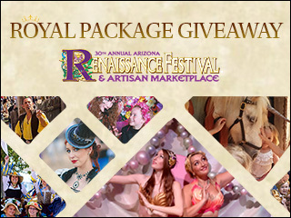 Enter to win tickets to the Renaissance Festival