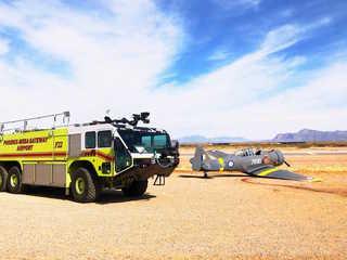 Small plane crashes at PHX-Mesa Gateway Airport