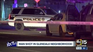 PD: Man seriously hurt in Glendale shooting