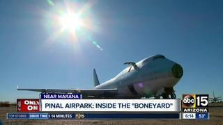 Take a tour inside AZ's 'airplane graveyard'