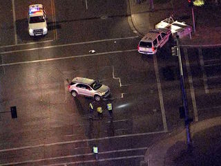 PD: Officer injured in crash responding to call