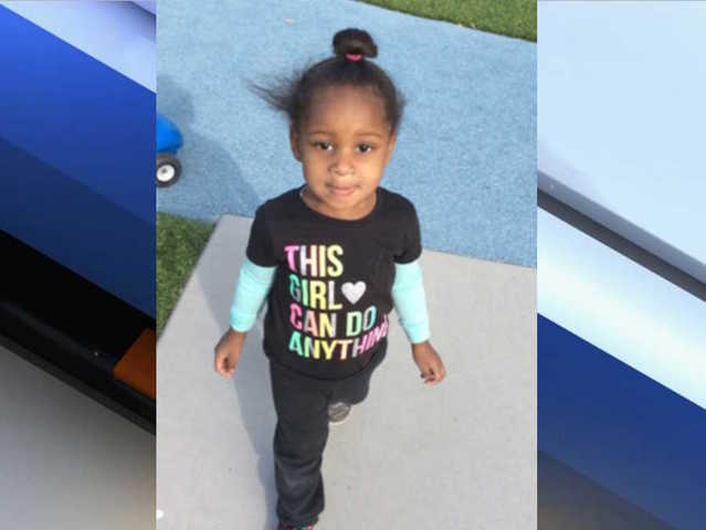 Police looking for 2-year-old taken by her non-custodial parents