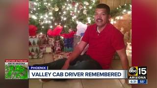 Valley cab driver remembered after deadly crash