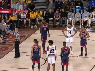 WATCH: UA cheerleader ejected from ASU game