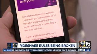 Are Uber/Lyft stopping rideshare rule breakers?