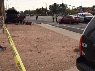 Victim identified in deadly Mesa crash