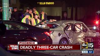 Police: 1 killed in west Phoenix crash