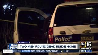 Two men found dead inside Phoenix home