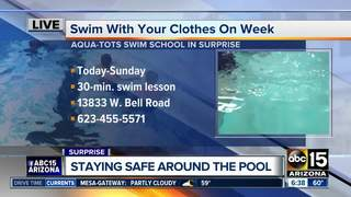 'Swim With Your Clothes on Week' kicks off