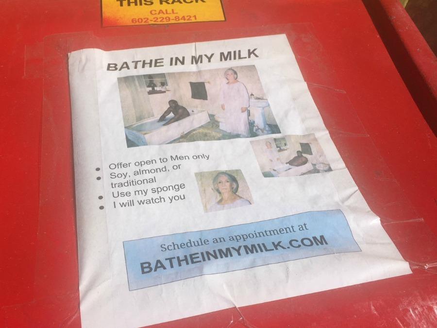 Bathe In My Milk Poster