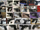 MAP: 104 guns found in carry-ons at US airports