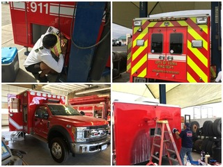 Yuma FD, locals build ambulance to save money