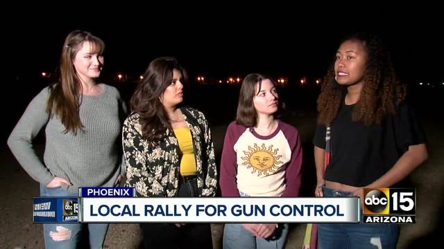 Teens organize -March for our Lives- rally in Phoenix following mass…