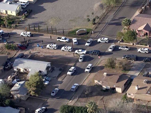 3 shot, officers OK in PHX PD-involved shooting