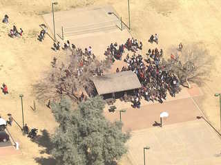 Valley students walk out in protest of gun laws