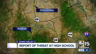 Teen accused of making threat at Chino Valley HS