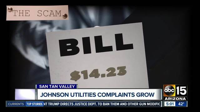 Johnson Utilities complaints grow