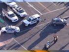 FD: 2 PHX officers and pedestrian hurt in crash
