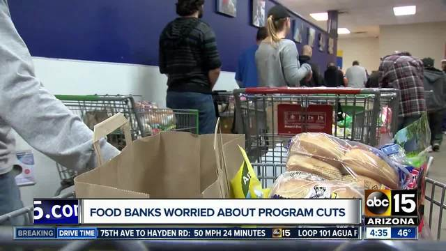 SNAP recipients may see half of their food stamps replaced