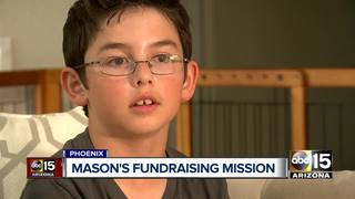 Phoenix boy plans fundraiser in brother's memory
