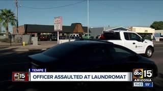 PD: Man assaults officer at Tempe laundromat