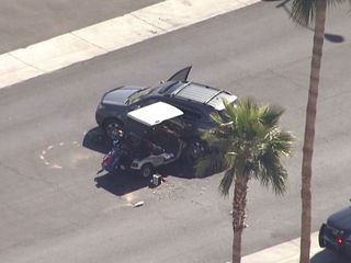 Golf cart driver hurt in Sun City West crash