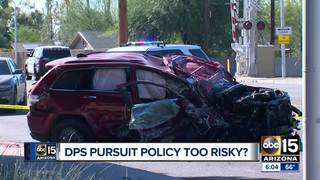 Is the AZ DPS pursuit policy too risky?