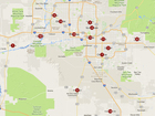 MAP: Safest cities around the Valley