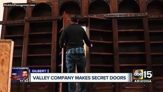 Valley company makes secret doors, passageways
