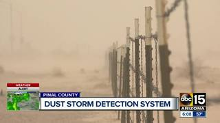 Detection tech to alert drivers of dust storms