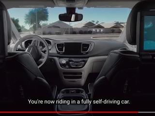 Take 360-degree virtual ride in self-driving car