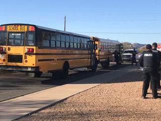 2 children transported after school bus crash
