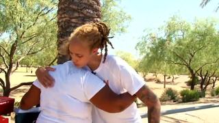 Phoenix Mercury's Brittney Griner gives back