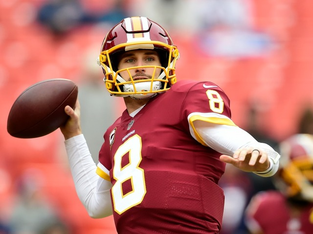 Kirk Cousins between Jets and Vikings