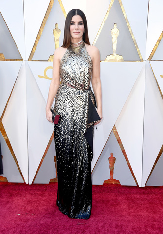 Hollywood Ca March  Sandra Bullock Attends The Th Annual Academy Awards At Hollywood Highland Center On March   In Hollywood California