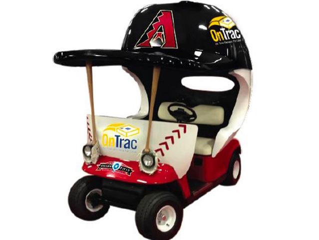 Arizona Diamondbacks bring back the bullpen vehicle